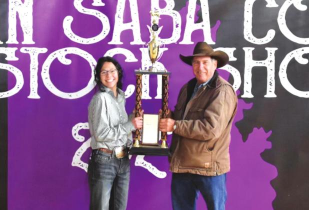 2021 San Saba County Stock Show Results
